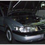 ติดแก๊ส รถแปลกๆบ้างครับ SAAB 9000CSE – 2.3 AT ติดแก๊สหัวฉีด AG เนียนอยู่แล้วครับ