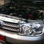 ติดแก๊ส Toyota forturner ป้ายแดงๆครับ หัวฉีด AG ถัง 51 ลิตร (โปรโมชั่น) กับ Honda civic ติดแก๊สหัวฉีด AG เหมือนกัน