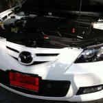 วันนี้ดูรถป้ายแดงบ้าง Honda Jazz ติดแก๊สหัวฉีด AG กับ Mazda 3 หัวฉีด SEC