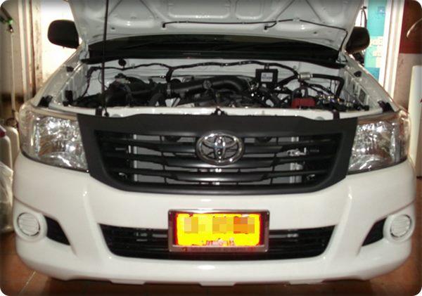 Toyota vigo champ install gas lpg 8
