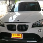 BMW รุ่น X1  E84 เครื่องยนต์ 1800 ซี.ซี. ติดแก๊สถังแคปซูล 76 ลิตร หัวฉีด AG เนียนอยู่แล้ว เอจี เอาอยู่