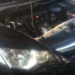 Honda civic ติดแก๊ส หัวฉีด ถังโดนัท 51 ลิตร จากรามอินทรา สวยงามมากครับ