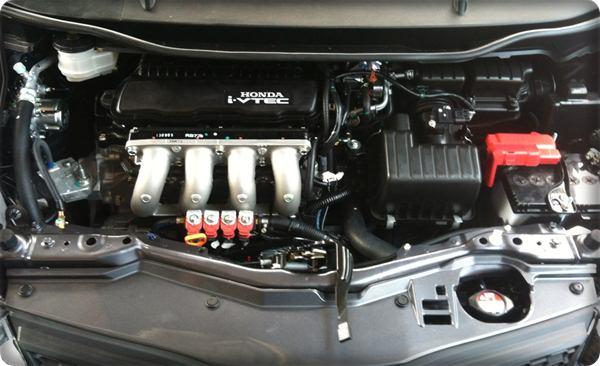 Honda jazz install gas lpg.1