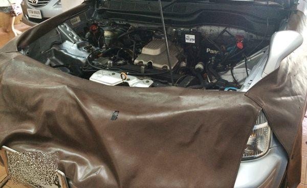 Honda crv install gas lpg.5