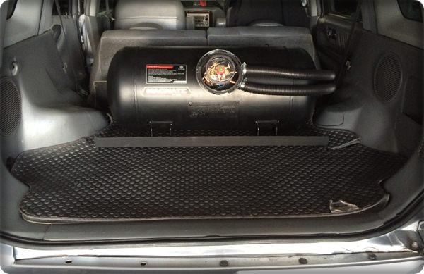 Honda crv install gas lpg.7