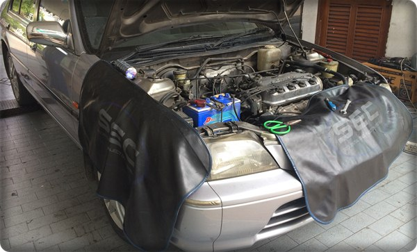 Honda civic install gas lpg.15