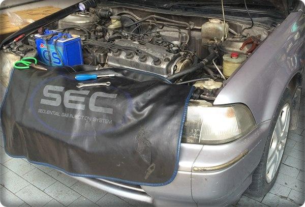 Honda civic install gas lpg.17