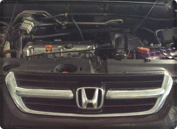 Honda crv install gas lpg.8