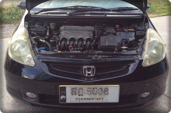 Honda jazz install gas lpg.4