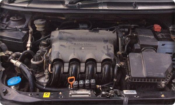 Honda jazz install gas lpg.6