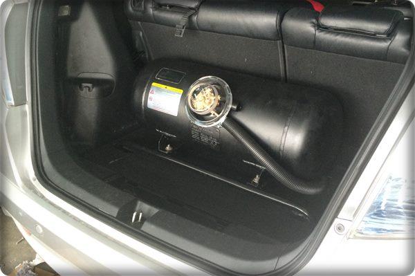 Honda jazz install gas lpg.9