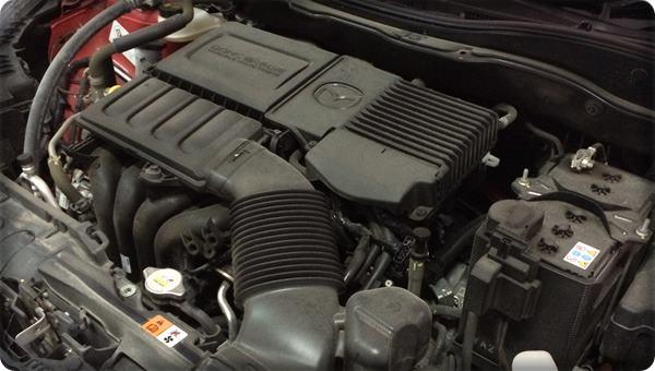 Mazda2 install gas lpg 1