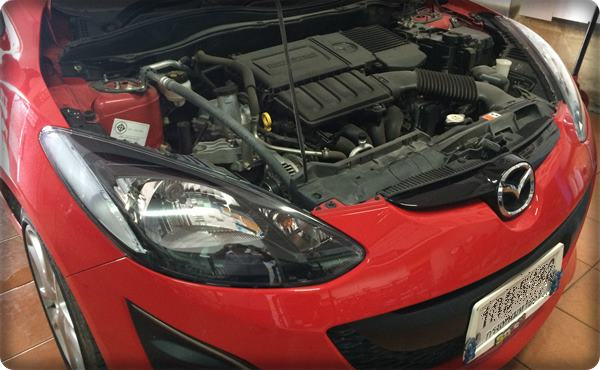 Mazda2 install gas lpg 2