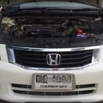 ติดแก๊สหัวฉีด Honda Accord 2.4 หัวฉีด AG ถังโดนัท 51 ลิตร ที่ สุพรรณบุรี