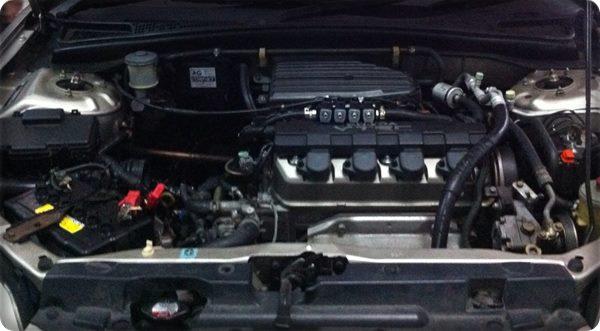 Honda civic install gas lpg.22
