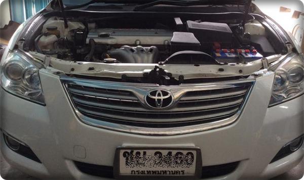 Toyota camry install gas lpg 1