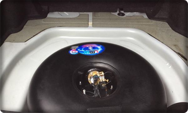 Toyota camry install gas lpg 2