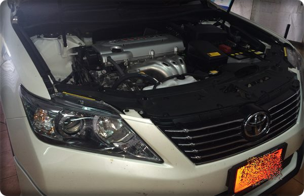 toyota camry install gas lpg 38