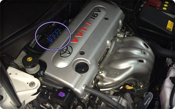toyota camry install gas lpg 40