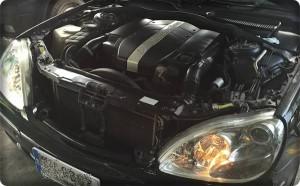 Benz S320 install gas lpg.3