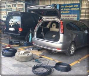 ติดแก๊ส สุพรรณบุรี  install gas lpg 8