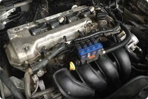 Toyota corola Altis install gas lpg 5