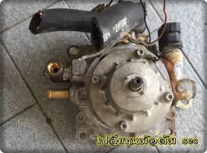 Toyota corola Altis install gas lpg 8