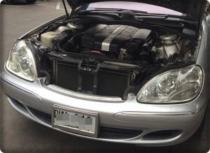 Benz S 280 install gas lpg.3