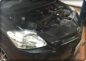 Toyota vios install gas lpg 1