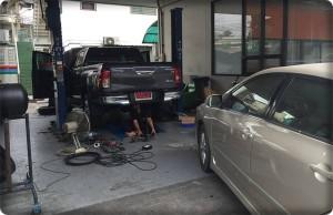 Toyota Hilux REVO ป้ายแดงติดแก๊ส 1