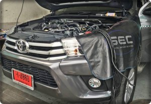 Toyota Hilux REVO ป้ายแดงติดแก๊ส 2