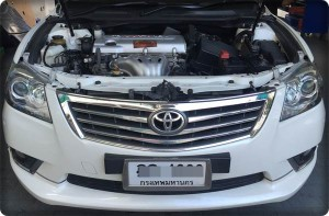 Toyota camry install gas lpg 1