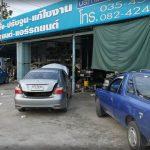 ติดแก๊ส Benz C220 หัวฉีด AG เนียนแน่นอน ขอบอก ยี่ห้อแก๊ส AG + ทีมงานเพาเวอร์แก๊ส
