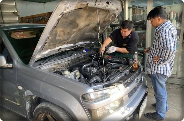 ซ่อมรถสุพรรณบุรี